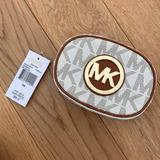 Michael Kors Bags | Michael Kors Cosmetic Pouch | Color: Cream/White | Size: Os