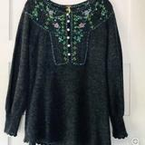 Free People Tops | Free People Wool Blend Sweater | Color: Red | Size: L