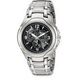 Eco-drive Titanium Bracelet Chronograph Watch - Black - Citizen Watches