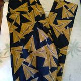 Lularoe Pants & Jumpsuits | Lularoe Leggings, Yoga Pants, Exercise Pants | Color: Black/Brown | Size: Os