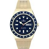 Q Diver Inspired Gold-tone Stainless Steel Bracelet Watch 38mm - Metallic - Timex Watches