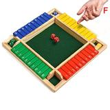 Fashion Wooden Board Games Box Puzzle Board 4 PlayerWooden TableFamily Games