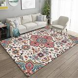 Persian Area Rug, Persian Home Indoor Area Rug with Traditional Vintage Print Pattern, for Living Room Decor, Dining Room, Kitchen Rug, or Bedroom(8,160x230cm)