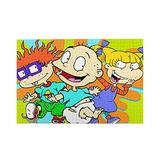 Shunbitop Rugrats Wooden Challenge Jigsaw Puzzle for Kids Funny Family Games Leisure Decompression Entertainment Toys Gift 29.7x19.8 in 1000 Piece Jigsaw