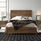 Grain Wood Furniture Montauk Standard 3 - Piece Bedroom Set Wood in Brown/Green/White, Size Full | Wayfair