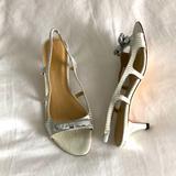 Kate Spade Shoes   Kate Spade Brand New Kitten Heel Slingback!   Color: Silver/White   Size: 7.5