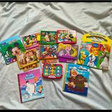 Disney Toys | Disney Story Reader Electronic Books Phonics 13pc | Color: Red/Tan | Size: Various