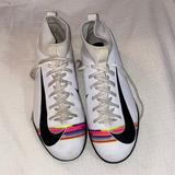 Nike Other | Nike Court Soccer Cleats | Color: Pink/White | Size: Youth 7