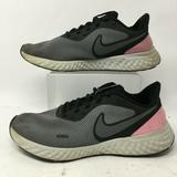 Nike Shoes | Nike Women 9 Revoliton 5 Lace Up Low Running Shoes | Color: Gray | Size: 9
