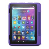 Amazon Introducing Fire HD 8 Kids Pro Tablet - 32 GB with 8-in. Display, Purple