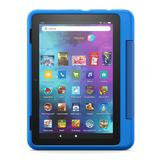 Amazon Introducing Fire HD 8 Kids Pro Tablet - 32 GB with 8-in. Display, Blue