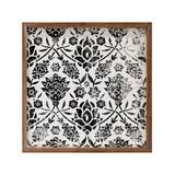 Kendrick Home Framed Wall Art White - White Vintage Floral Framed Wall Art