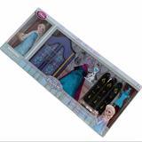 Disney Toys   Disney Frozen Elsa Wardrobe Set   Color: Blue   Size: Disney Elsa Mini Doll And Playset