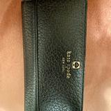 Kate Spade Bags | Kate Spade - Slim Snap Bifold Leather Wallet | Color: Black/Gold | Size: Os