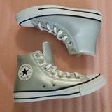 Converse Shoes | Converse, Women, Shoes, Silver, White, Black. | Color: Silver/White | Size: Various