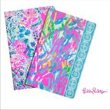 Lilly Pulitzer Office | Lilly Pulitzer Student Pocket Notebook Set | Color: Blue/Pink | Size: Os