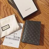 Gucci Bags | Gucci Microguccissima Gg Leather Card Case Wallet | Color: Brown | Size: Os