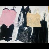 Victoria's Secret Intimates & Sleepwear | Huge Victorias Secret Lot | Color: Black/Pink | Size: L