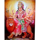 Puzzles for Adults 1000 Piece/Hindu Goddess Snow Mountain Goddess(50x75cm)Puzzle Games, Educational Games, Brain Challenge Puzzles for Adults