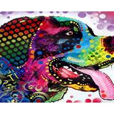 Puzzles for Adults 1000 Piece/Doodle Dog Animal(50x75cm)Puzzle Games, Educational Games, Brain Challenge Puzzles for Adults