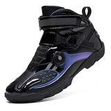 JRYⓇ Ladies Motorcycle Boots - Rider Boots Leather Waterproof Motorbike Motorcycle Winter Racing Biker Boots Adventure Biker Shoes