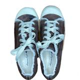 American Eagle Outfitters Shoes | American Eagle Brown Wedge Tennis Shoe | Color: Brown/Cream | Size: 8