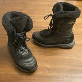 The North Face Shoes | North Face Girls Thermoball Snow Boots | Color: Black/Gray | Size: 7g