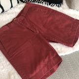 J. Crew Shorts | J. Crew Mens 100% Cotton Salmon Red Shorts Size32 | Color: Red | Size: 32
