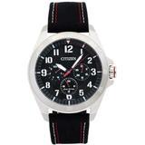 Eco-drive Chronograph Black Dial Watch -17e - Metallic - Citizen Watches