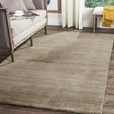 Gracie Oaks Thendara Hand-Loomed Wool/Cotton Taupe Area RugCotton/Wool in Brown, Size 72.0 H x 48.0 W x 0.62 D in   Wayfair