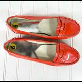 Michael Kors Shoes | Michael Kors Red Patent Leather Loafers | Color: Red | Size: 9