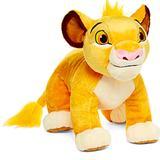 Disney Toys | Disney The Lion King Baby Simba Plush Stuffed Toy | Color: Orange/Yellow | Size: 17
