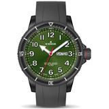 Chronorally S Quartz Green Dial Watch 37nrca Vb - Green - Edox Watches