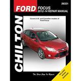 Ford Focus Automotive Repair Manual: 2012-14 (Chilton Automotive Repair Manual)