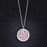 necklace Pendant Jewelry Perfume Lockets Necklaces Pendants Aromatherapy Choker Necklace Essential Oil Necklace Surgical Steel Jewelry Christmas Halloween Christmas Valentine's Day Birthday Gift