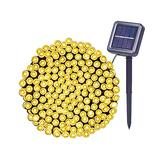 Solar String Lights 72Ft 200 LED,8 Modes Warm White LED String Lights Waterproof Solar Fairy Lights for Garden, Patio,Fence,Camping, Balcony,Wedding , Outdoors/Indoor.