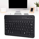 Multi-Device Bluetooth Keyboard Metal Bluetooth Keyboard, Rechargeable Bluetooth Keyboard for Android, Windows, PC, Tablet