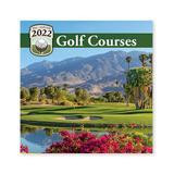 Turner Licensing Calendars MULTI - 'Golf Courses' Jan-Dec 2022 Calendar