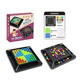 1Set Realistic Matchmaking Game Toy Eliminating Board Games Miniature Smart Stimulation Rainbow Puzzle Toy Table Game board games for kids 8-12 under 5 dollars