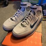 Nike Shoes   Nike Vintage Air Zoom Huarache 2k4 Shoes   Color: Blue/White   Size: 9