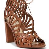 Jessica Simpson Shoes   Jessica Simpson Emagine Lace-Up Sandal   Color: Brown   Size: 10