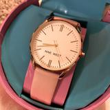 Nine West Accessories   Nine West Womens Strap Watch   Color: Gold/Pink   Size: Os
