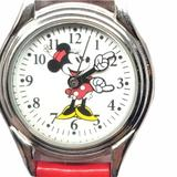Disney Accessories   Disney Minnie Mouse Red Watch   Color: Black/Red   Size: Os
