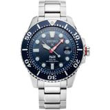 Prospex Blue Dial Stainless Steel Mens Watch - Blue - Seiko Watches