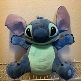 Disney Toys | Disney Lilo And Stitch Medium Plush Stuffed Animal | Color: Blue | Size: Osg