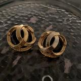 Gucci Jewelry | Chanel Inspired Vintage Earrings | Color: Red | Size: Os