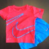 Nike Matching Sets | Nike Baby Boys Dry-Fit Tee And Short Set - 18mths | Color: Blue/Red | Size: 18mb