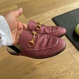 Gucci Shoes | Kids Gucci Children'S Princetown Slipper Size 32 | Color: Pink | Size: 1g