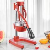 Frifer Manual Citrus Juicer Hand Press,Commercial Orange Lemon Juicer Squeezer Heavy Duty Cast Iron Fuselage & Base,Stainless Steel Funnel&Filter Sc