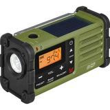 Sangean SG-112 AM/FM/Weather Rugged Portable Radio with Hand Crank & Solar Panel (G SG-112